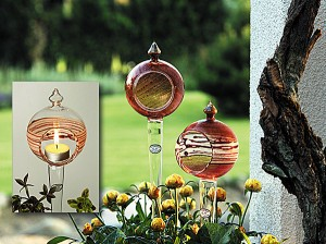 Windlichter auch für den Garten